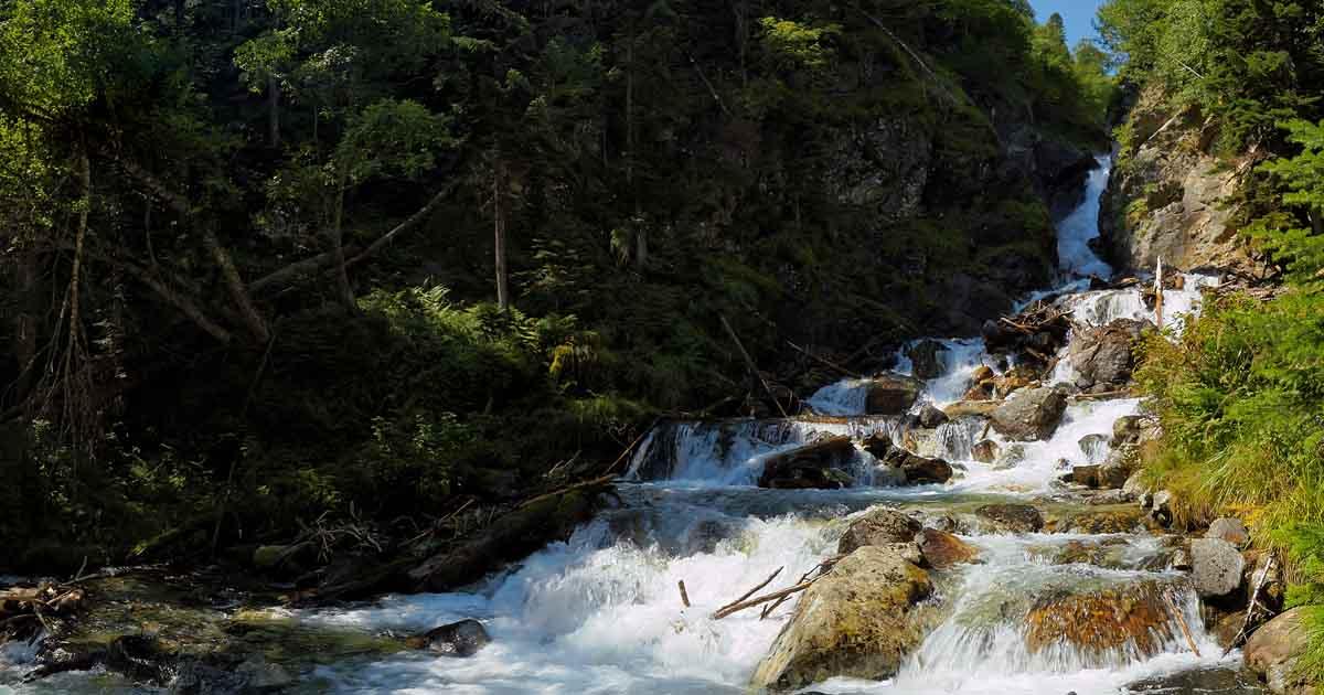 Waterfall Belorechensky