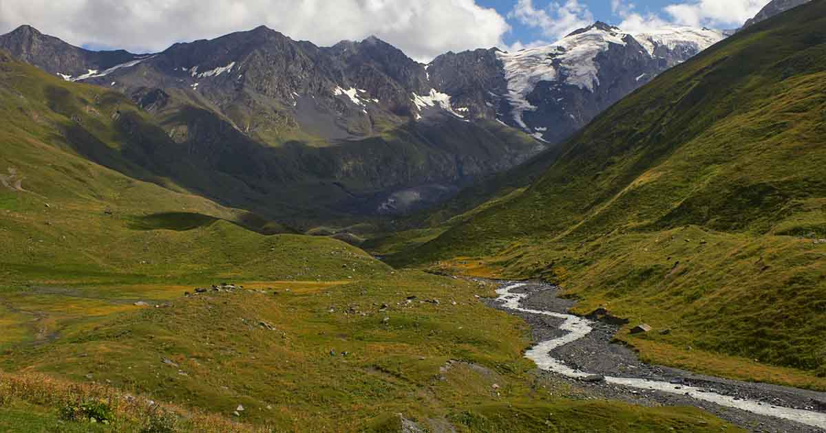Karasu river valley, near the mouth of the river Ortozyurek.
