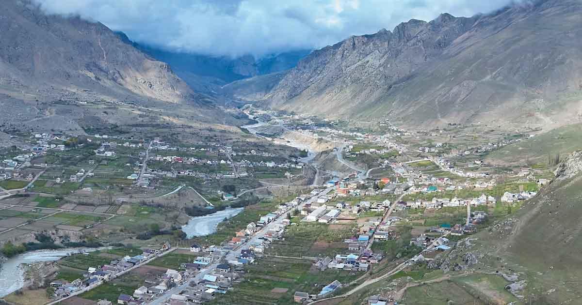 Verkhnyaya Balkariya village.