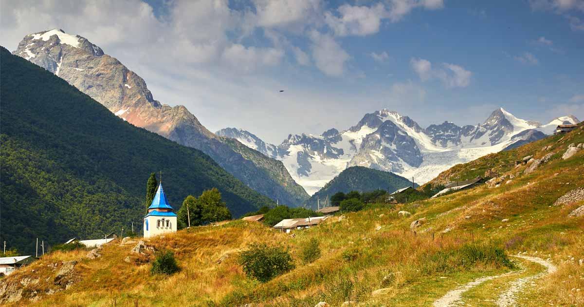 Surroundings of Stur-Digora village
