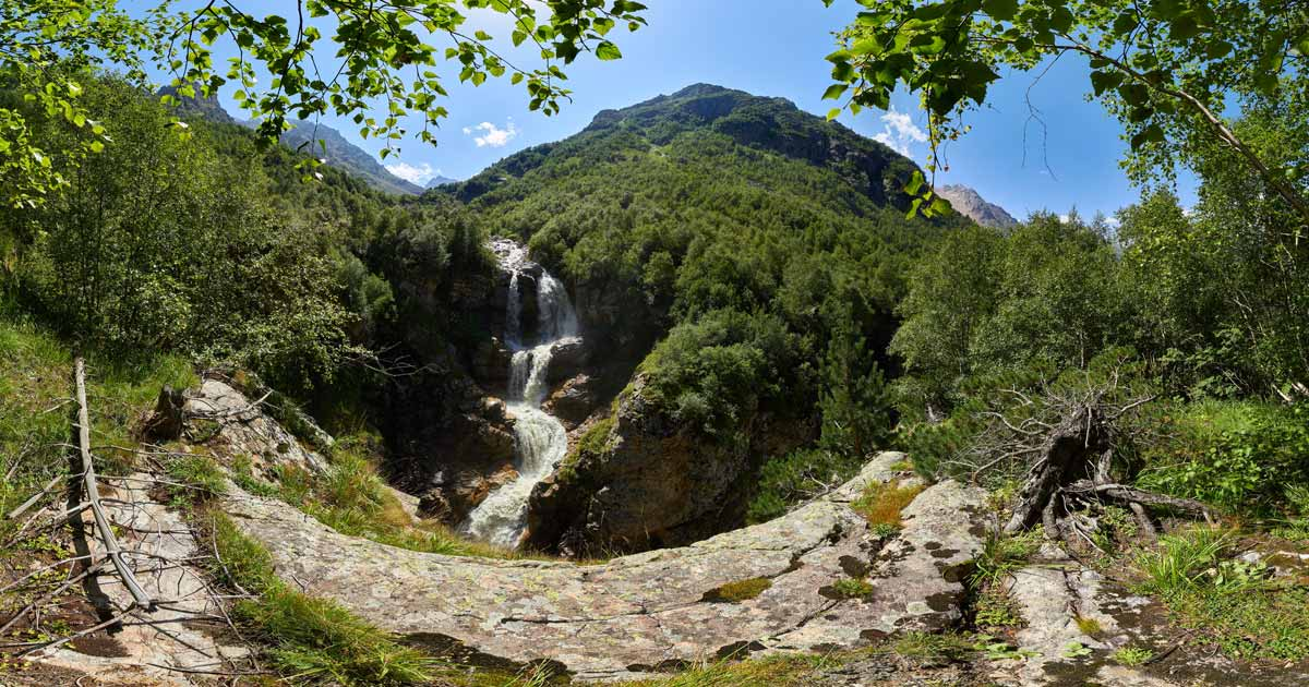 The Gebi waterfall Gebi