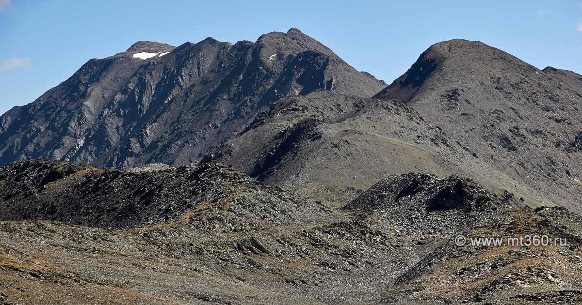 Фиагдонская дуга, вершина 3591 м