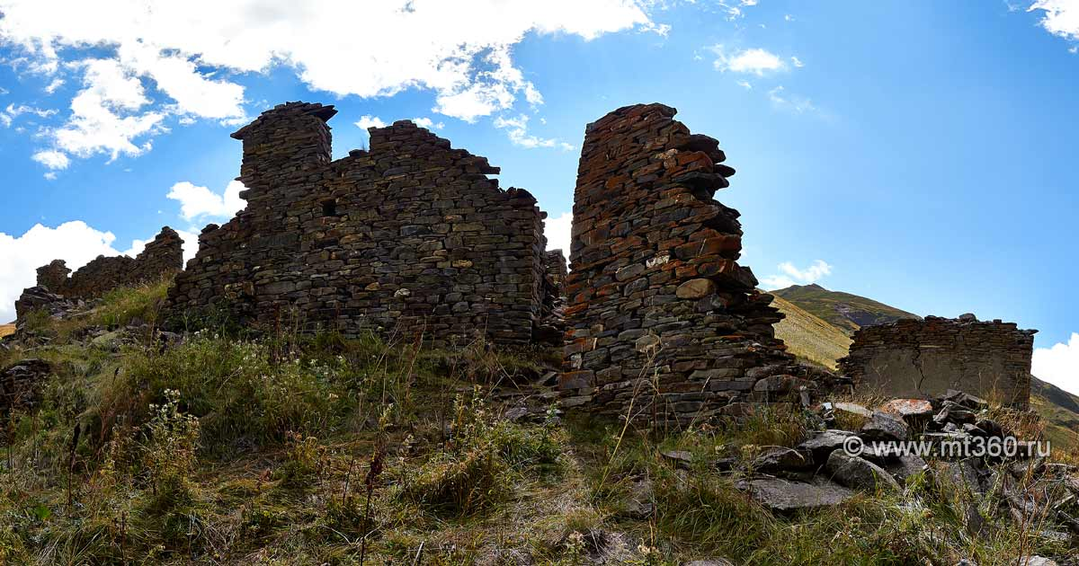 The ruins of the village Baykom