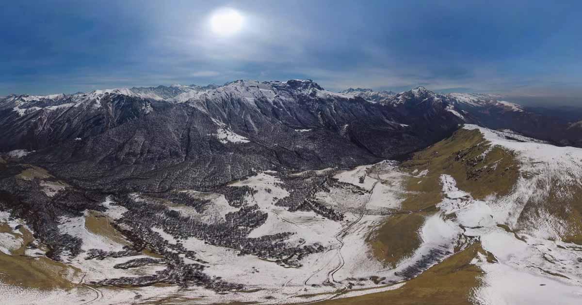 The Khosavdrag ridge