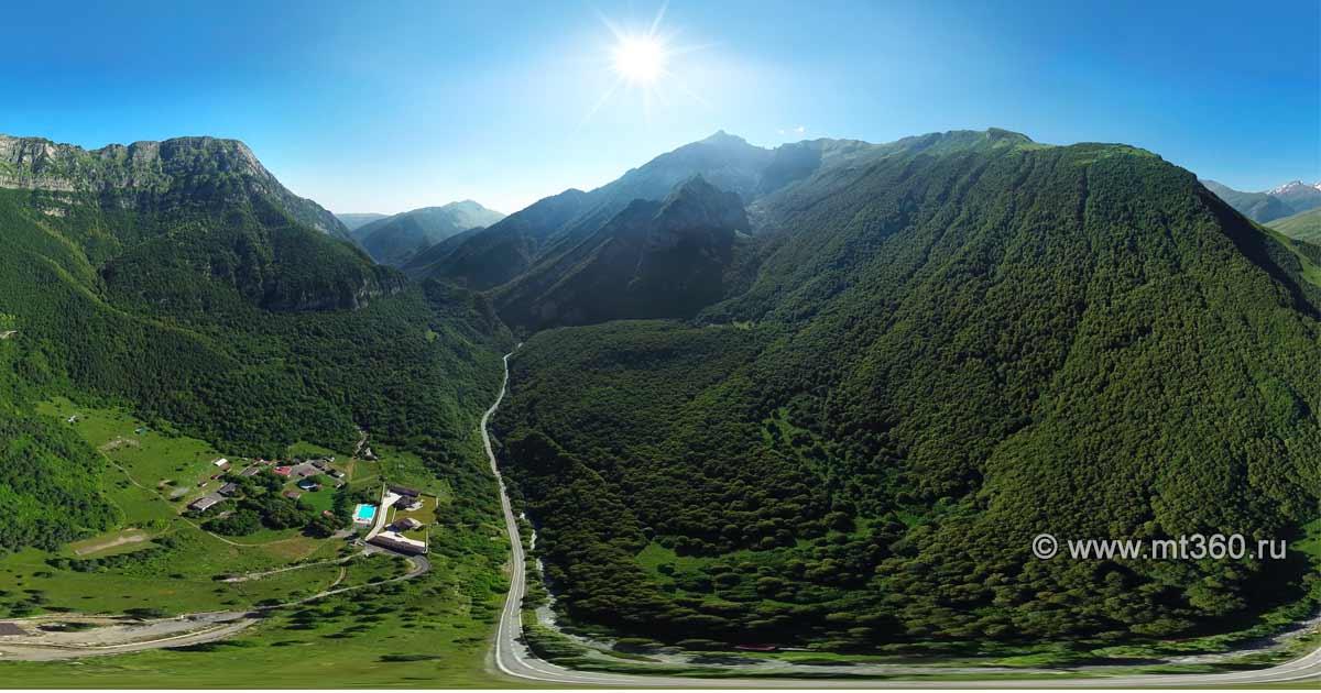 Kurtatinskoe gorge, camp