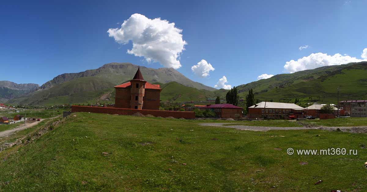 Verkhny Fiagdon village
