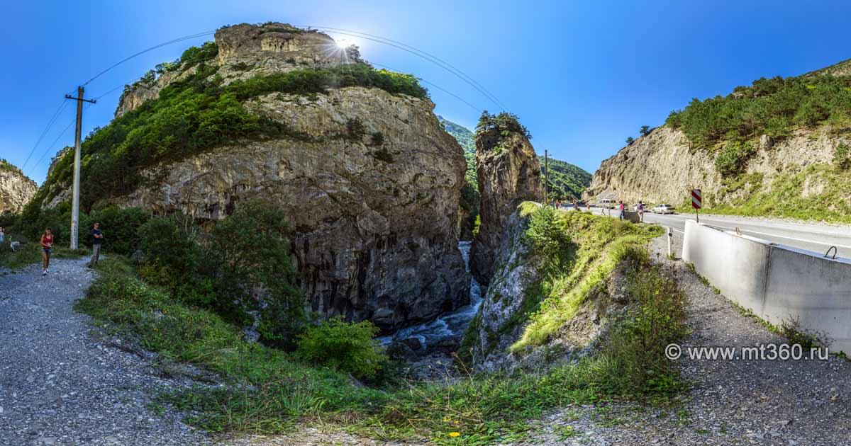 Kurtatinskoe gorge, Kadargavan canyon